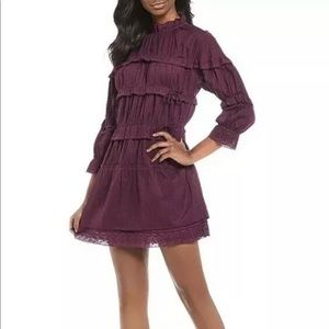 Chelsea & Violet Victorian Tiered Ruffle Dress